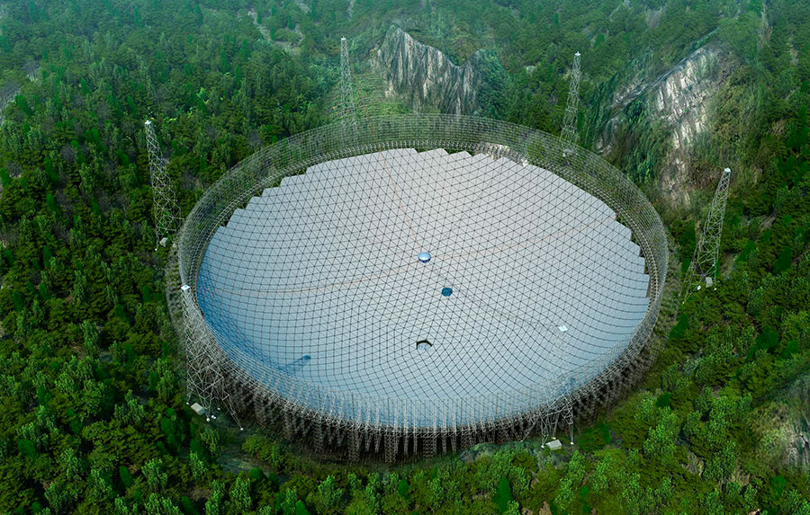 FAST radiotelescope