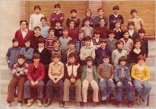 Niños de un colegio, años 70 / YoFuiaEGB.com