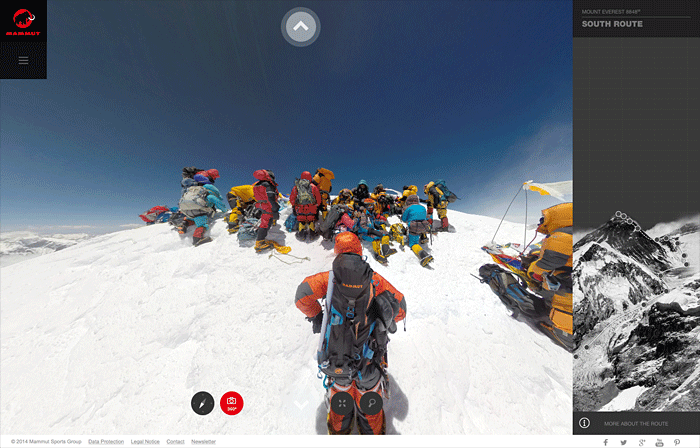 Ascension everest project360 mammut
