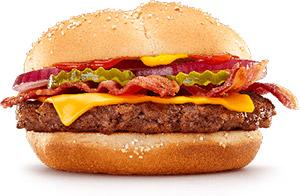 Cuadro de Libra con Queso también llamado «Royale Cheese» en Francia / McDonald's