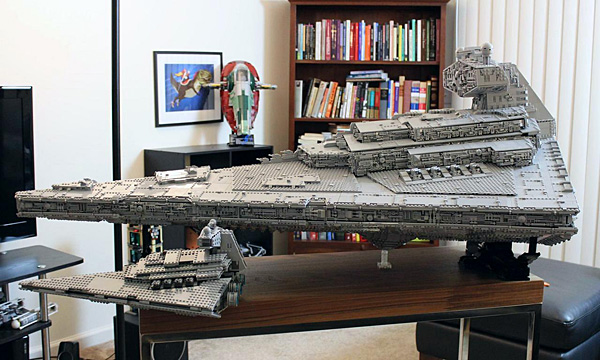 Doomhandle lego star destroyer with three level interior 1