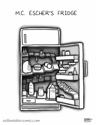MC Escher Fridge