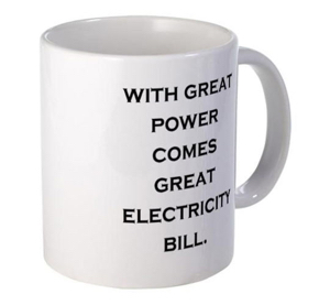 Funny-Mug-Power-Thought-Electricity