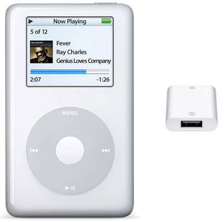 iPod Photo e iPod Camera Connector