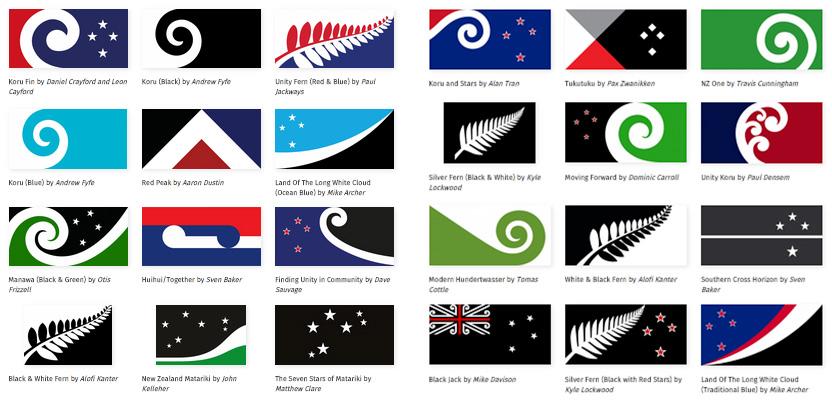 NZ Flags