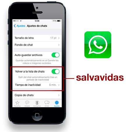 Salva tu culo evitando mensajes equivocados en Whatsapp