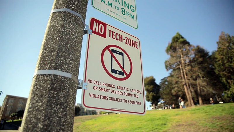 Zonas libres de tecnología / reclaimingspaces.org