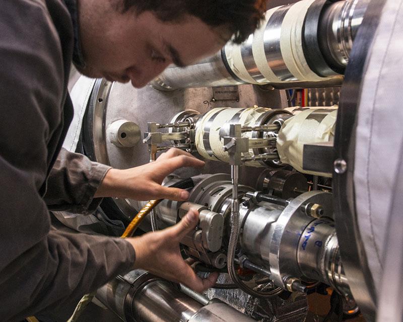 Mantenimiento en el LHC