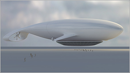 Manned Cloud: aspecto exterior