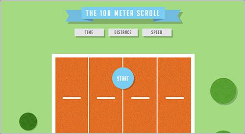 100 Meter Scroll / 100 metros lisos y perfectamente pixelados