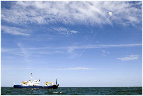 Cometa para buques SkySails