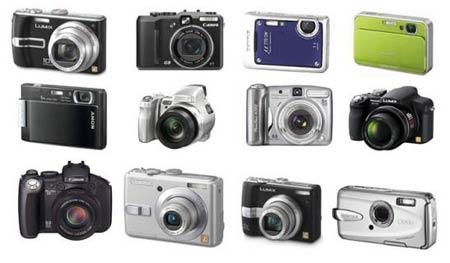 Las 12 mejores compactas digitales de 2007
