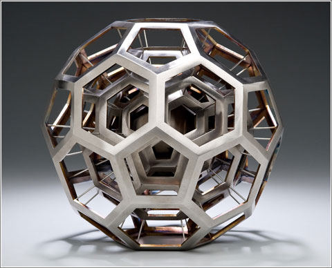 Buckybola cuántica (C) Julian Voss-Andreae