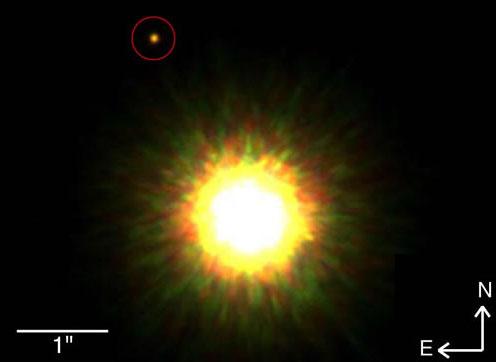 1RSX J160929.1-210524 y su planeta / Gemini Observatory