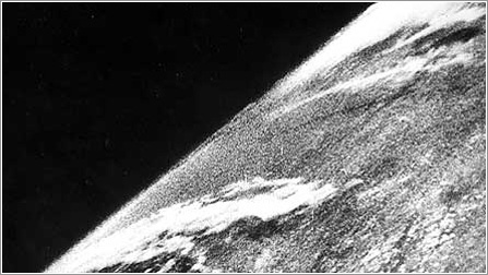 1St Photo from Space