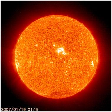 El Sol hoy