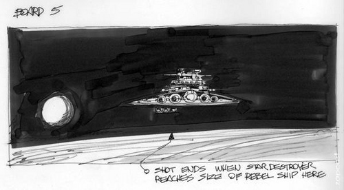 Storyboards Star Wars