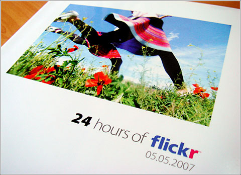 24-Horas Flickr: el libro