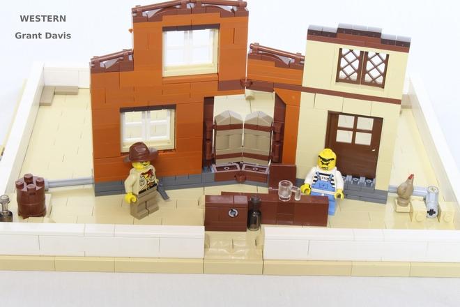 Propuesta para un libro desplegable hecho con Lego