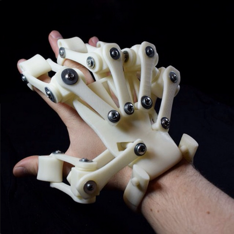 3D Printed Exoskeleton Hand Large