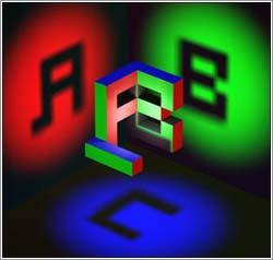 Ambigrama 3D