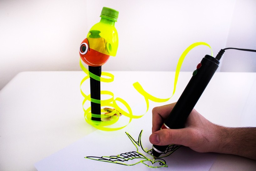3d print bottle pen