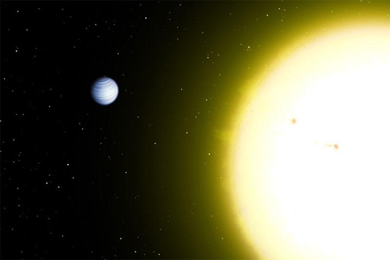 51 Pegasi b y su estrella