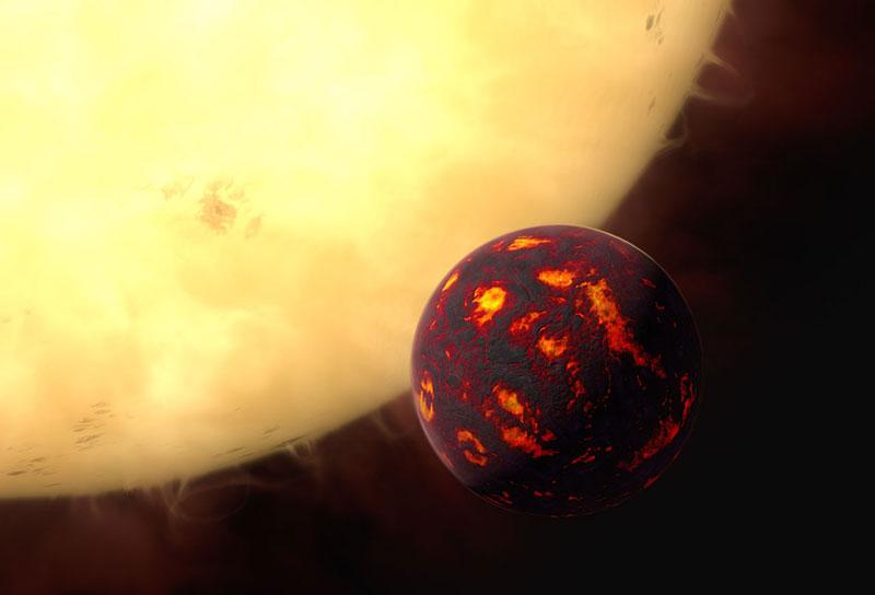 Impresión artística de 55 Cancri e