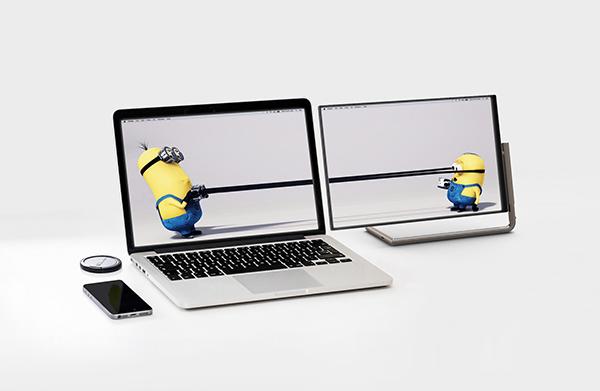Un atractivo monitor externo para ordenadores portátiles
