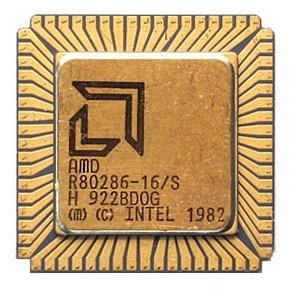 Un 80286 Intel/AMD