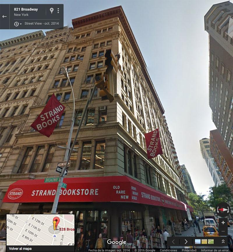 828 Broadway en Street View