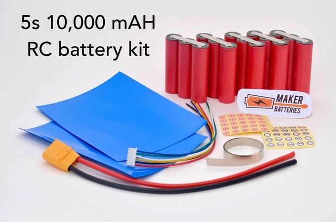 Un kit para que construyas tus propias baterías recargables