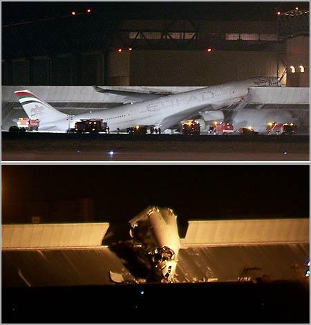 A340-600 de Etihad Airways accidentado en Toulouse