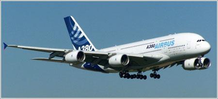 Airbus A380 aterrizando en Getafe © Sergio de la Prida / AviationCorner