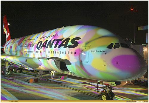 Ceremonia de entrega del primer A380 de Qantas - Luis Calvo