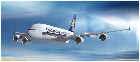 A380 Singapore Airlines - First to Fly / Imagen por I3M