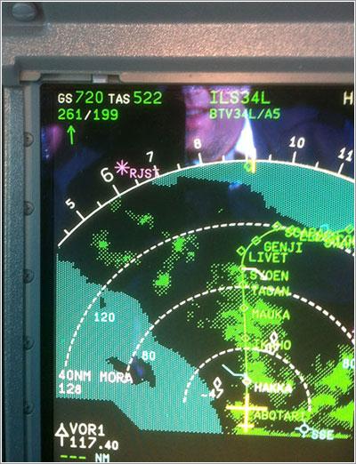 Un A380 a 720 nudos