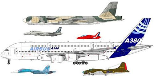 A380 y otros