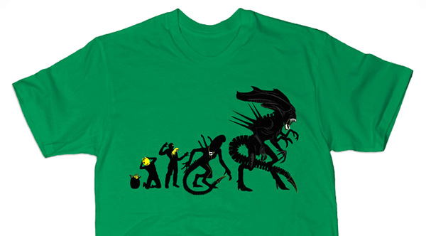 Alien-Evolution-Green-Variant-T-Shirt