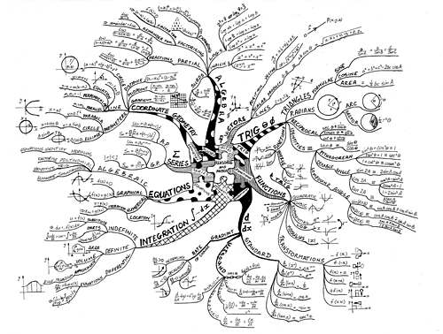 El árbol matemático de las fórmulas