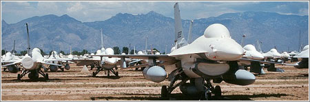 F-16 Stored