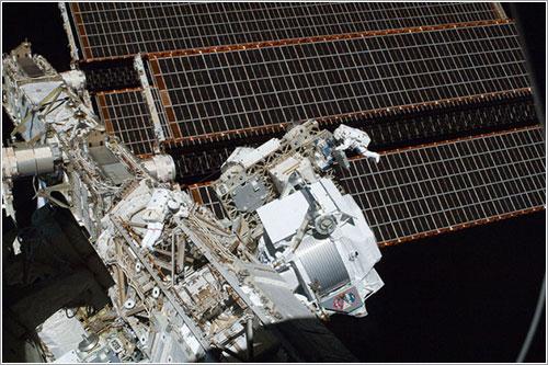 El AMS-02 en la ISS