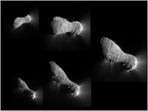 Comet Hartley 2 Flyby   - NASA, JPL-Caltech, UMD, EPOXI Mission