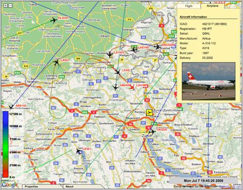Air Traffic - Universidad de Ciencias Aplicadas de Zurich