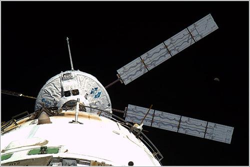 El ATV-2 en la ISS - ESA