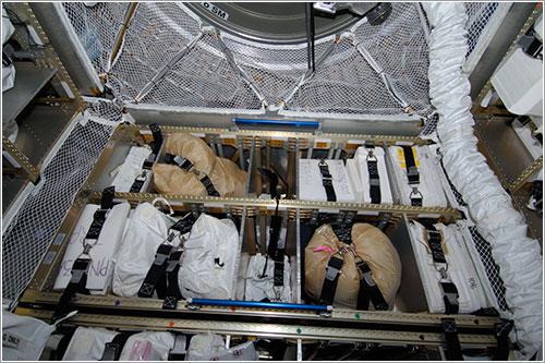 Interior del ATV-3