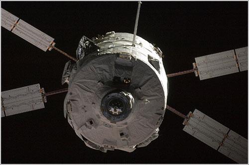 El Jules Verne llegando a la ISS - ESA