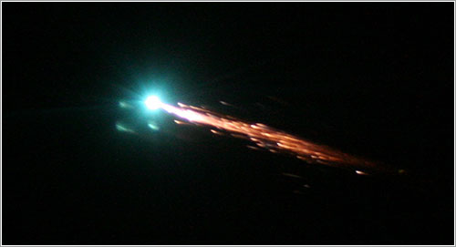 Reentrada del Julio Verne - ESA