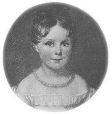 Ada Lovelace a los cuatro años