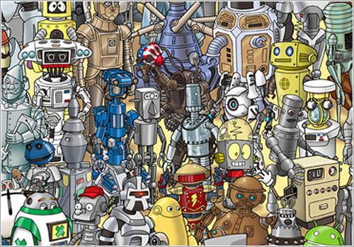Where's WALL-E por Ricjard Sargent